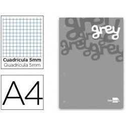 Bloc recambio encolado Liderpapel din A4 grey