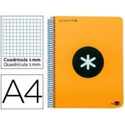 Bloc Liderpapel Din A4 Antartik cuadricula color naranja