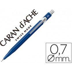 Portaminas marca Caran d'Ache 844 classic line azul