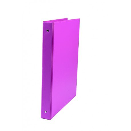 Carpeta Liderpapel 4 anillas 25mm A4 color Fucsia