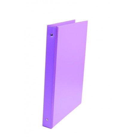 Carpeta Liderpapel 4 anillas 25mm A4 Color Violeta