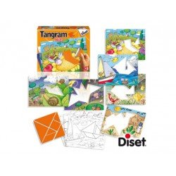 Juego didactico a partir de 3 años Tangram Kids Diset