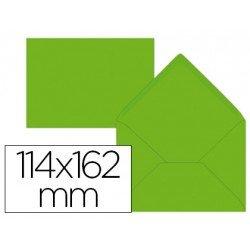Sobre marca Liderpapel C6 Lima 114x162 mm.