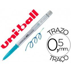 Bolígrafo Borrable roller gel UF-220 color azul claro 0,5 mm