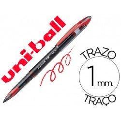 Bolígrafo Uni-ball roller 1 mm retráctil UB-188-L tinta rojo