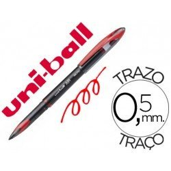 Boligrafo Uni-Ball roller AIR 188M color rojo 0,5 mm