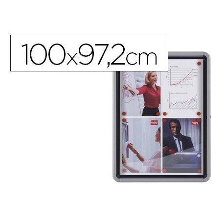 Vitrina de anuncios mural exterior 100x97,2cm Marca Nobo