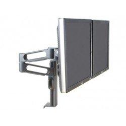 Brazo doble para monitor Kensington pantallas hasta 24 pulgadas
