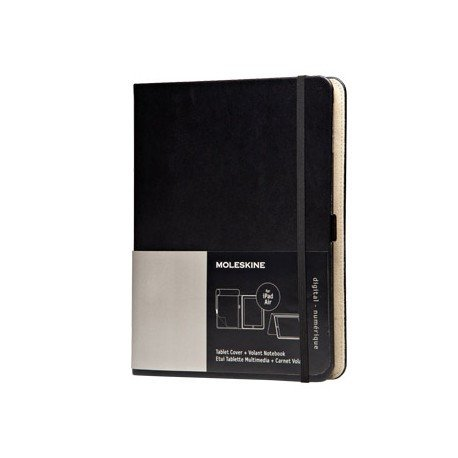 Funda Moleskine Ipad Air color negro