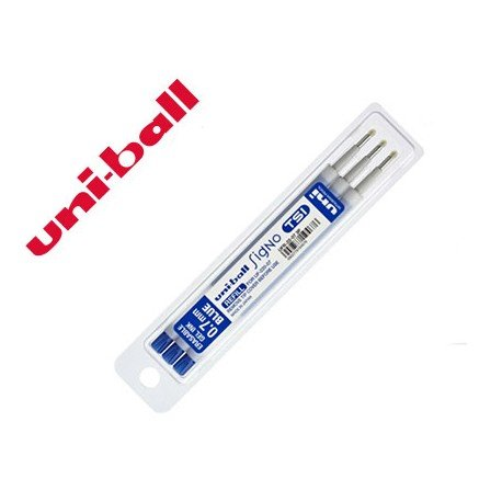 Recambio Uni-Ball roller signo Tsi 0,4 mm color azul
