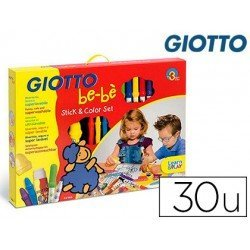 Set Giotto be-be de rotuladores lapices y pegamento