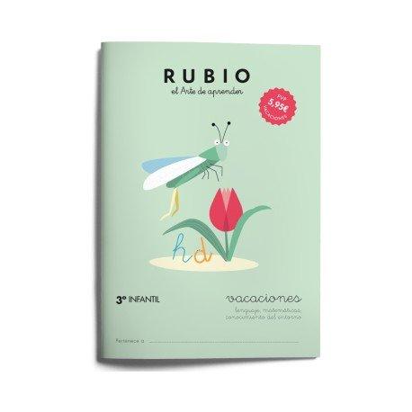 Cuaderno vacaciones Rubio 3º Educación Infantil