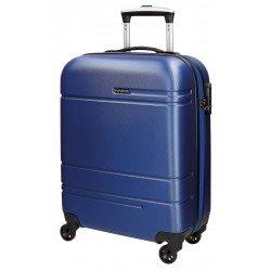 Maleta cabina Movom Matrix 40x55x20cm Color Azul