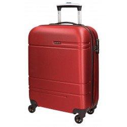 Maleta cabina Movom Matrix 40x55x20cm Color Rojo
