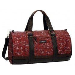 Bolsa de viaje Pepe Jeans 50x25x17cm Color Rojo