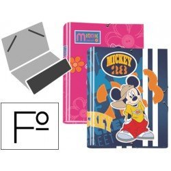 Carpeta gomillas A4 fantasia disney Liderpapel