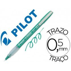 Rotulador Pilot Punta aguja Tinta Liquida color Verde