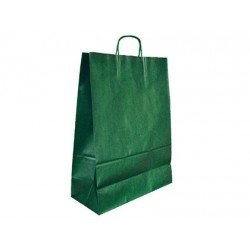 Bolsa Kraft Marca Q-Connect Verde 420X190X480 mm