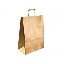 Bolsa Kraft Marca Q-Connect Oro 240X100X310 mm