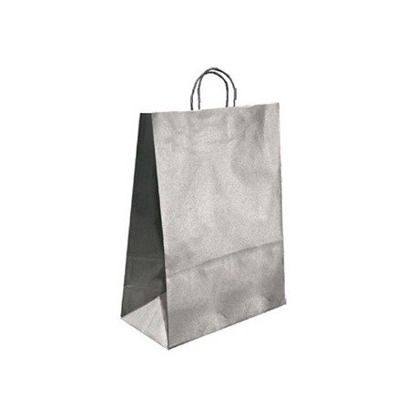 Bolsa Kraft Marca Q-Connect Plata 420X190X480 mm