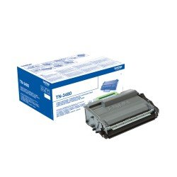 Toner Brother TN-3480 Color Negro Alta Capacidad
