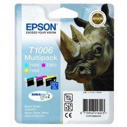 Cartucho Epson T1006 Multipack de 3 colores C13T100640