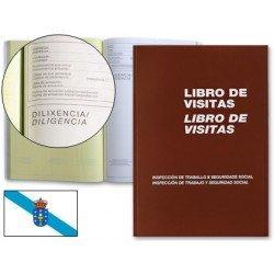 Libro de visitas Folio Miquelrius castellano-gallego