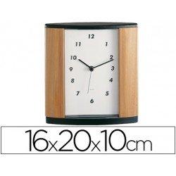 Reloj de oficina marca Century madera