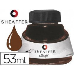 Tinteros Sheaffer marron 53 ml