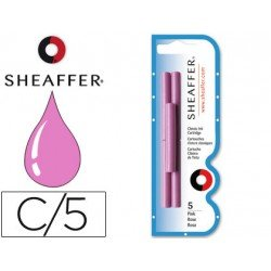 Cartuchos de tinta Sheaffer Classic color rosa