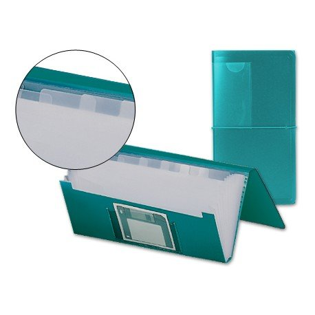 Carpeta clasificadora polipropileno Beautone 260 x 140 mm