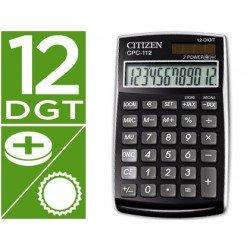 Calculadora bolsillo Citizen Modelo CPC-112 negra