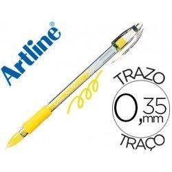 Boligrafo Artline 1700 Softline amarillo fluorescente