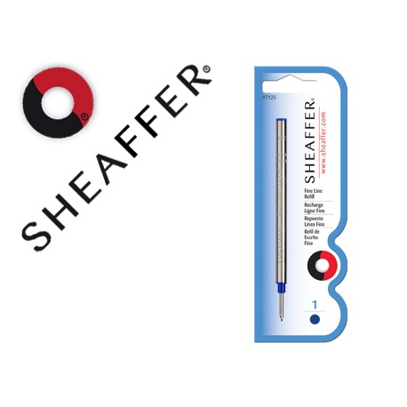 Recambio roller fine line marca sheaffer azul