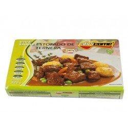 Estofado de ternera Abricome preparado para calentar y comer