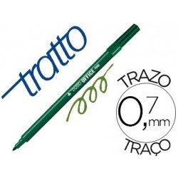 Rotulador Tratto 0,7 mm color verde