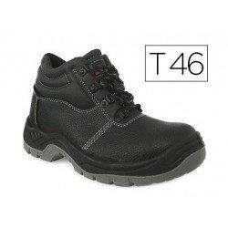 Botas de seguridad Marca Faru Cuero Negro Talla 46