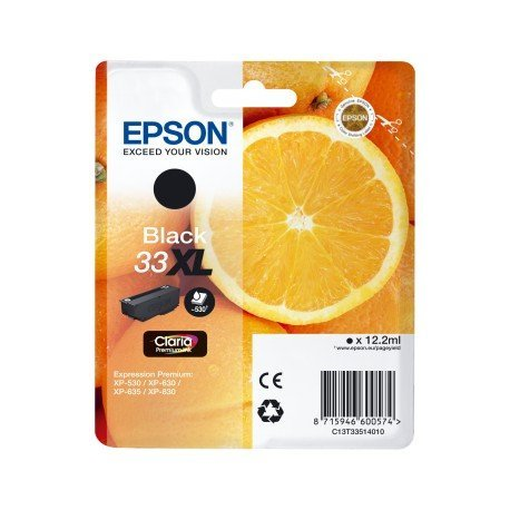 Cartucho Epson T3351 Color Negro 33XL C13T335140