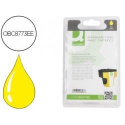 Cartucho compatible HP 363 Amarillo estandar C8773EE