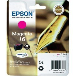 Cartucho Epson 16 color Magenta C13T16234010