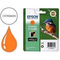 Cartucho EPSON T1599 color naranja C13T15994010
