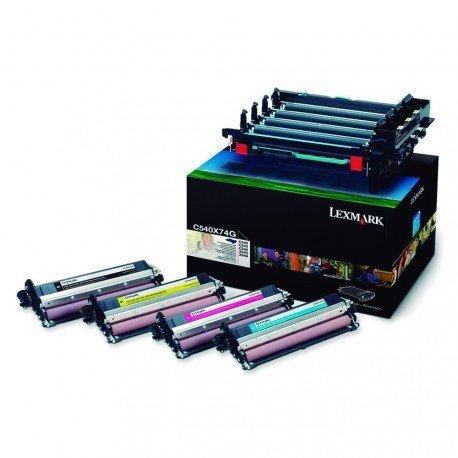 Toner marca LEXMARK multicolor 0C540X74G