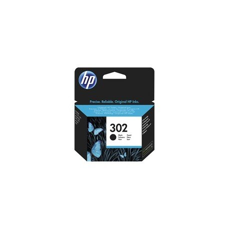 Cartucho Original HP 302 F6U66AE Color Negro