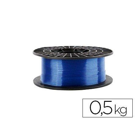 Filamento 3d Colido Gold translucido X PLA 1.75 mm color azul