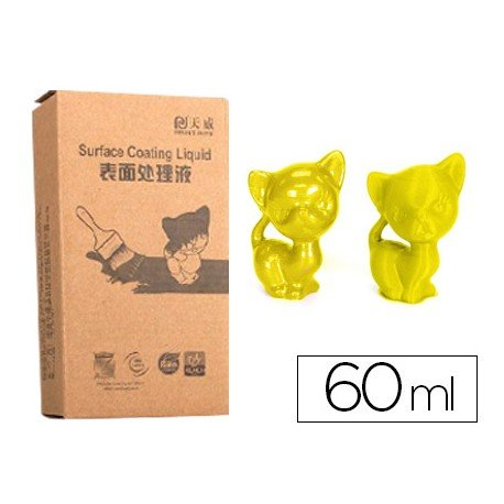 Recubrimiento 3d Colido color Amarillo 60 ml