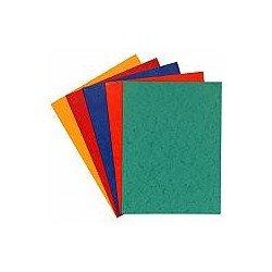 Subcarpeta Cartulina Lustrada DIN A4 Exacompta Colores Surtidos 225 gr