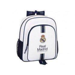 Mochila Infantil Real Madrid Adaptable a Carro 32x12x38 cm 1º equipacion