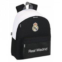 Mochila Escolar Real Madrid Sin carro 32x14x40 cm Baloncesto