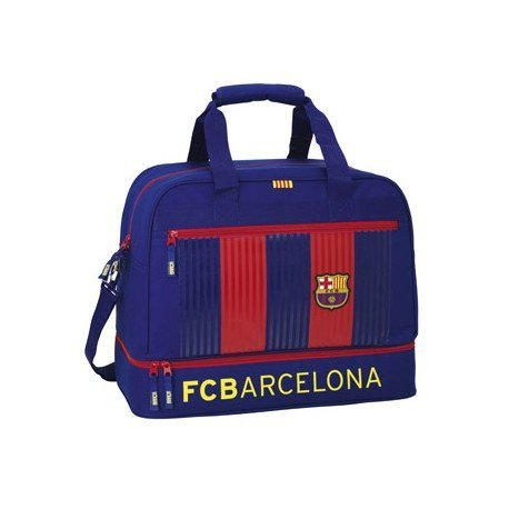 Bolsa Deporte con Zapatillero F.C. Barcelona 48x27x38 cm 1º equipacion