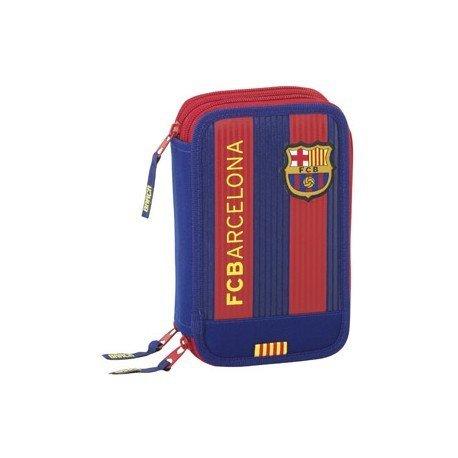 Plumier Escolar F.C. Barcelona 12,5x6x20,5 cm 1º Equipación